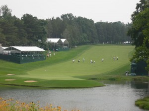 Congressional 18th Hole